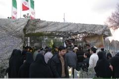 مراسم هفتمین سالگرد شهادت شهید کاظمی