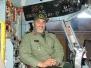 دوران خدمت در نیروی هوایی