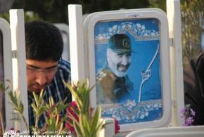 گزارش تصویری آخرین پنج شنبه سال ۹۳ و حضور خانوادههای شهدا